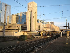 Brussels-North railway station