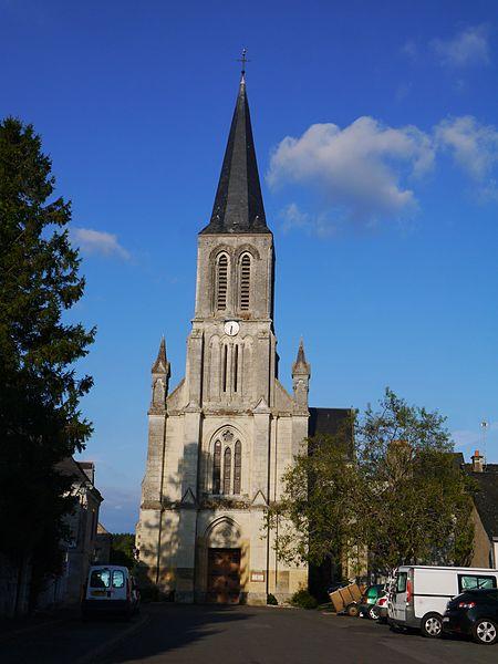 L'église Notre-Dame en 2016.