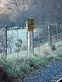 5½ Milepost, Vale of Rheidol Railway - geograph.org.uk - 695764.jpg