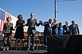 50th Anniversary of the Selma Marches - Former President George W Bush and former First Lady Laura Bush participated in the program.jpg