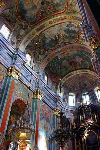 Roman Catholic Archdiocese of Lublin - Interior of Archcathedral of St. John the Baptist in Lublin