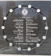 Gedenkteken voor de slachtoffers