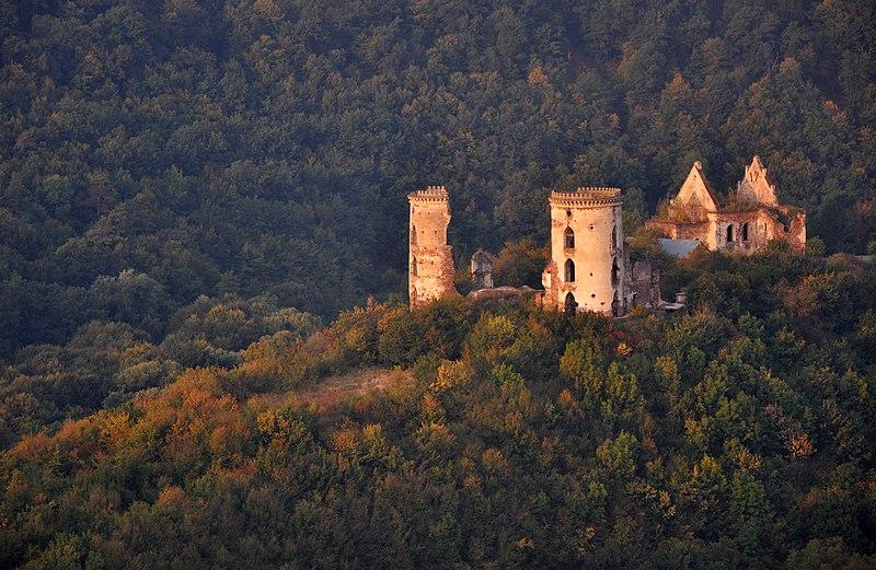 Червоногородський замок, село Нирків (Тернопільська область)