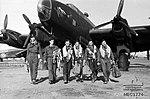 614 Squadron RAF Halifax aircrew AWM MEC1774.jpg