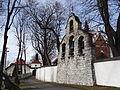 616246 małopolskie gm zabierzów Rudawa kościół ogrodzenie 1.JPG