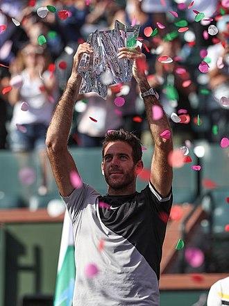 2018 ATP Finals - Del Potro won his first Masters title.