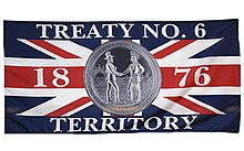 Image result for treaty 6 flag