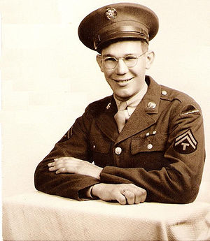 78th Infantry Division (United States) - Evert VanderRoest, before being sent to Europe as a part of the United States Army's 78th Infantry Division during World War II.