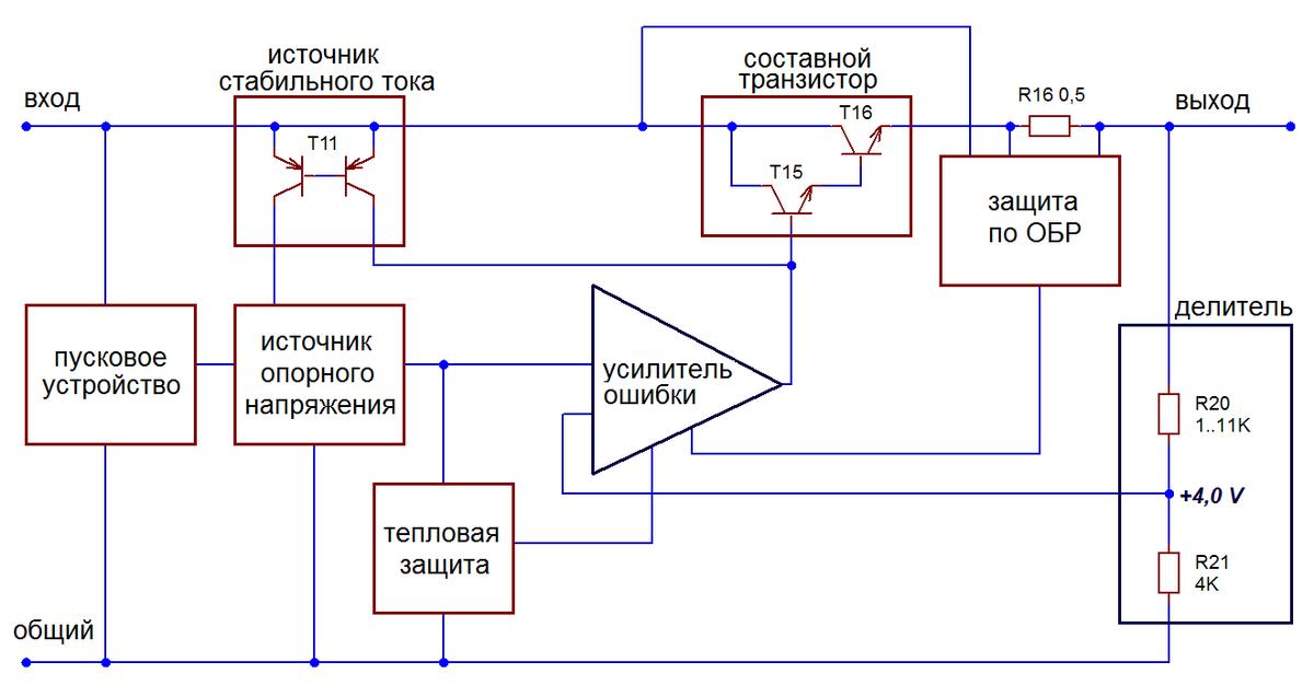 K7812 схема включения