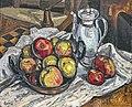 81 - Nature morte aux pommes - Georges Gaudion - huile sur toile - Musée du Pays rabastinois.jpg