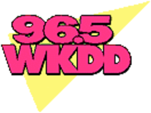 WAKS - 1990s logo as WKDD