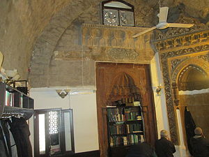 Ashur Mosque - View of the interior of the Ashur Mosque in Baku, Azerbaijan