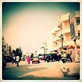 A-POIS Giuditta Nelli - Senegal 2012 - Dakar, Shot on the move Crossing a rich district.JPG