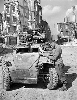 Humber Scout Car - Example in Falaise, France 1944