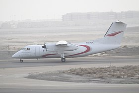 A6-ADC Dash 8 Abu Dhabi Aviation (7921685916).jpg