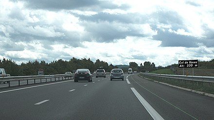 Col de Naves - Autoroute A71 (France)