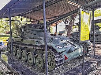 Battle of Asal Uttar - Image: AMX 13 Tank. (31424627492)
