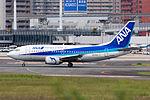 ANA Wings, B737-500, JA8596 (21304555194).jpg