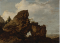 A ROCKY ARCH NEAR THE COAST.PNG