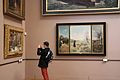 A man taking a picture of an artwork in the Palais des Beaux-Arts de Lille.jpg