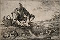 A peasant without shoes removing a thorn (?) from his foot, Wellcome V0016586.jpg