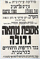 A poster calling to protest against the persecution of Jews in Germany, Tel Aviv 1933.jpg