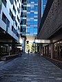 A public walk with restaurants, 100 McLachlan Street.JPG