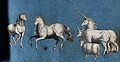 A sheep, two horses, a cow and a unicorn Wellcome V0021399.jpg