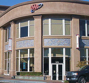 American Automobile Association - A AAA office in Walnut Creek, California