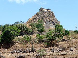 The Abba Pentalewon Monastery near Aksum (Tigr...