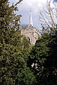 Abbess Roding - St Edmund's Church - Essex England - church from west through trees.jpg