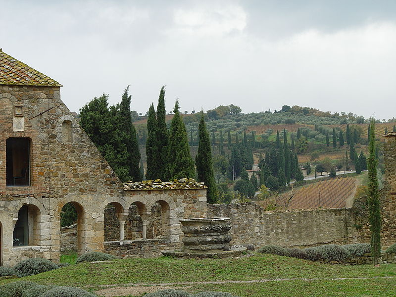 File:Abbey of Sant'Antimo, Montalcino, Tuscany.jpg