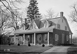 National Register of Historic Places listings in Saddle River, New Jersey - Image: Abram Ackerman House
