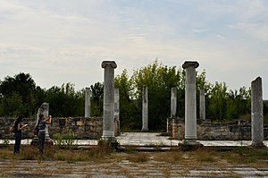 Battle of Abritus - Roman ruins at Abritus, site of the battle