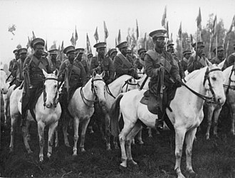 Eritrean–Ethiopian border conflict - Abyssinian soldiers in 1936 during the Second Italo-Ethiopian War.