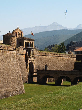 Jaca - Castle of San Pedro.