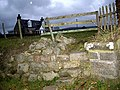 Access steps to footpath gate - geograph.org.uk - 1020321.jpg