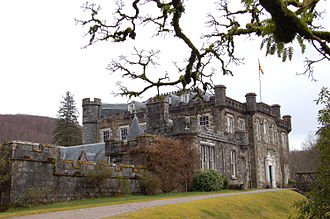 Achnacarry - Image: Achnacarry Castle—Scotland