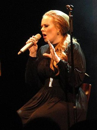 Adele - Adele performing in Seattle, Washington, on 12 August 2011