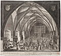 Aegidius Sadeler, Vladislavský sál (1607), mědiryt a lept 611 x 564 mm, Sbírka grafiky Národní galerie v Praze.jpg