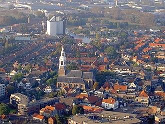 Nijkerk - Aerial view of Nijkerk