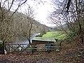 Afon Ystwyth at Pont Rhyd-y-groes - geograph.org.uk - 285657.jpg