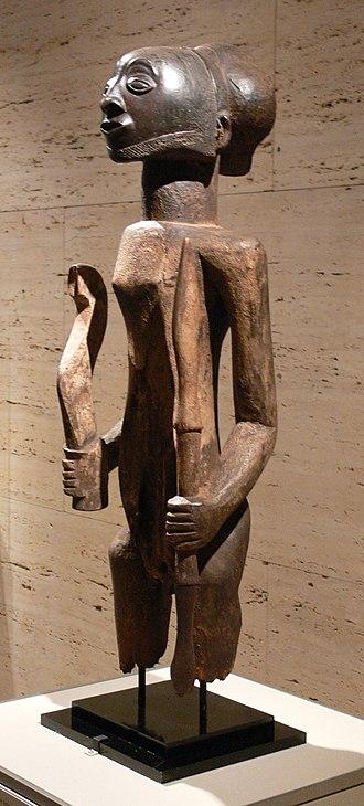 Hemba people - Image: Africa Hemba Warrior Ancestor Figure 2 Kimbell
