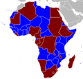 African Union member states by number of houses.png