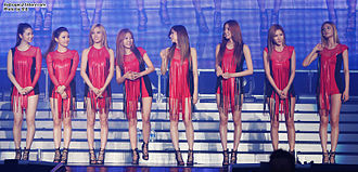 After School (band) - After School in July 2012