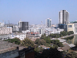 Top view of Agrabad Commercial area