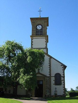 Aingeville - The church in Aingeville