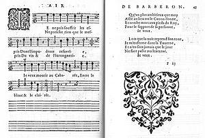 Guillaume Barberon - The aria Je ne puis souffrir les espris... 1626.