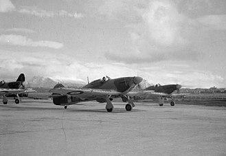 RAF Reykjavik - Hurricane aircraft at RAF Reykjavik during World War II