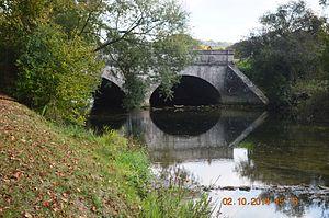 Aisey-sur-Seine - The Bridge of Troubles on the Seine at Aisey-sur-Seine